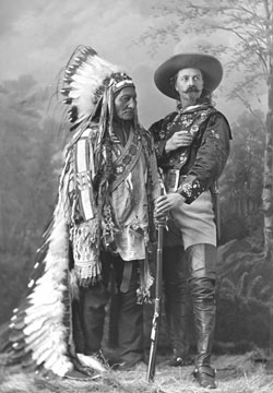 Sitting Bull och Buffalo Bill