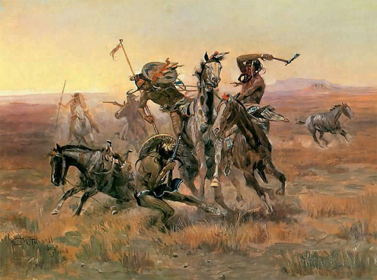 Sioux VS. Blackfeet